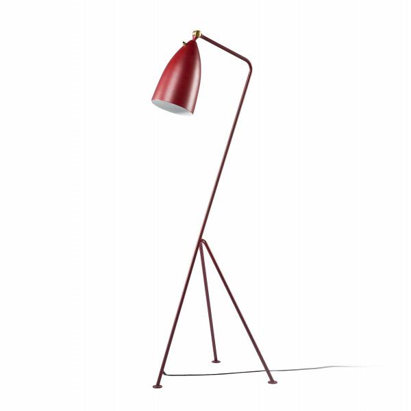 Напольный светильник Grashoppa высота 121Напольные<br>Напольный светильник Grashoppa высота 121 — это воспроизведение уникальной работы промышленного дизайнера Греты Магнуссон Гроссман. Он был создан в пятидесятых годах XX века и с тех пор не теряет популярности. Грета Гроссман сформировала эстетику «калифорнийского модернизма». Сама она находилась под большим влиянием модернизма европейского. Копии работы Греты Гроссман очень трудно найти — как правило, они создавались малыми партиями под проекты этого дизайнера, поэтому компания Cosmo очень...<br><br>stock: 0<br>Высота: 121<br>Ширина: 31<br>Длина: 44<br>Количество ламп: 1<br>Материал абажура: Алюминий<br>Материал арматуры: Сталь<br>Мощность лампы: 75<br>Ламп в комплекте: Нет<br>Тип лампы/цоколь: E27<br>Цвет абажура: Красный<br>Цвет арматуры: Красный<br>Цвет провода: Черный<br>Дизайнер: Greta Grossmann