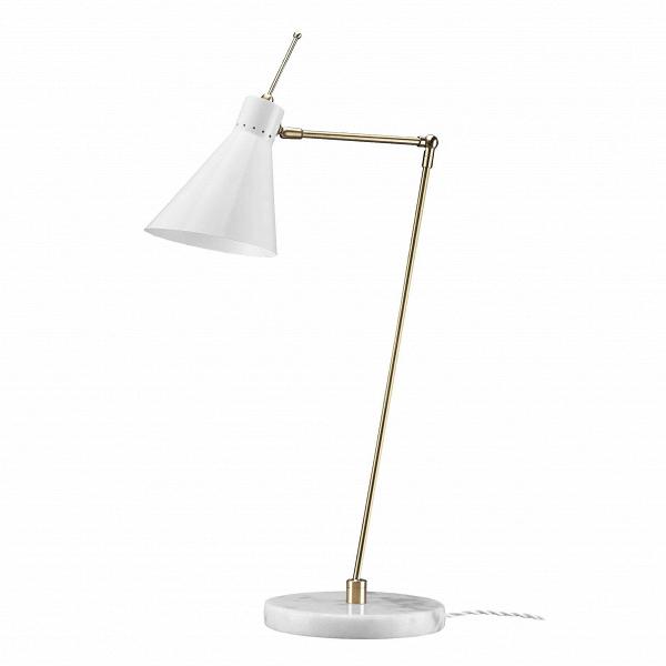 Настольный светильник Vittoriano ViganoНастольные<br>Настольный светильник Vittoriano Vigano — это яркий представитель европейского модернизма, созданный известным дизайнером Витториано Вигано. Светильник обладает простой, но изящной формой, мягкими линиями и красивой цветовой гаммой. Дизайнер предусмотрел для изделия удобные крепления и шарниры, с помощью которых вы легко установите лампу в нужное положение.<br><br><br> Абажур светильника изготовлен из прочного и легкого алюминия. Отдельно стоит сказать и об основании, которое сделано из мрамора...<br><br>stock: 0<br>Высота: 69<br>Длина: 49<br>Доп. цвет абажура: Латунь<br>Количество ламп: 1<br>Материал абажура: Алюминий<br>Материал арматуры: Мрамор<br>Ламп в комплекте: Нет<br>Цвет абажура: Белый<br>Цвет арматуры: Белый<br>Цвет провода: Белый