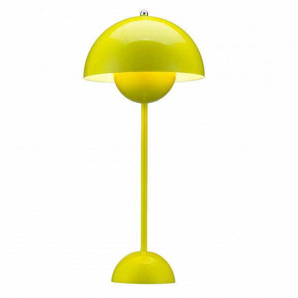 Настольный светильник Flower PotНастольные<br>Поклонникам футуристичного дизайна в стиле Стенли Кубрика или «Интерстеллара» как нельзя лучше подойдут мебель и осветительные приборы скандинавского патриарха, ученика Арне Якобсена Вернера Пантона. Революционер в области дизайна, он когда-то провозгласил: «Нет такого закона, по которому в гостиной должны стоять диван, два кресла и журнальный столик. Есть и другие способы создать атмосферу релаксации». И создавал ее: на его яркие психоделические интерьеры, в которых Пантон играл с цветом, фо...<br><br>stock: 0<br>Высота: 48<br>Диаметр: 23<br>Материал абажура: Алюминий<br>Материал арматуры: Сталь<br>Ламп в комплекте: Нет<br>Цвет абажура: Желтый<br>Цвет арматуры: Желтый<br>Дизайнер: Verner Panton
