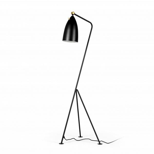 Напольный светильник Grashoppa высота 121Напольные<br>Напольный светильник Grashoppa высота 121 — это воспроизведение уникальной работы промышленного дизайнера Греты Магнуссон Гроссман. Он был создан в пятидесятых годах XX века и с тех пор не теряет популярности. Грета Гроссман сформировала эстетику «калифорнийского модернизма». Сама она находилась под большим влиянием модернизма европейского. Копии работы Греты Гроссман очень трудно найти — как правило, они создавались малыми партиями под проекты этого дизайнера, поэтому компания Cosmo очень...<br><br>stock: 0<br>Высота: 121<br>Ширина: 31<br>Длина: 44<br>Количество ламп: 1<br>Материал абажура: Алюминий<br>Материал арматуры: Сталь<br>Мощность лампы: 75<br>Ламп в комплекте: Нет<br>Тип лампы/цоколь: E27<br>Цвет абажура: Черный<br>Цвет арматуры: Черный<br>Цвет провода: Черный<br>Дизайнер: Greta Grossmann
