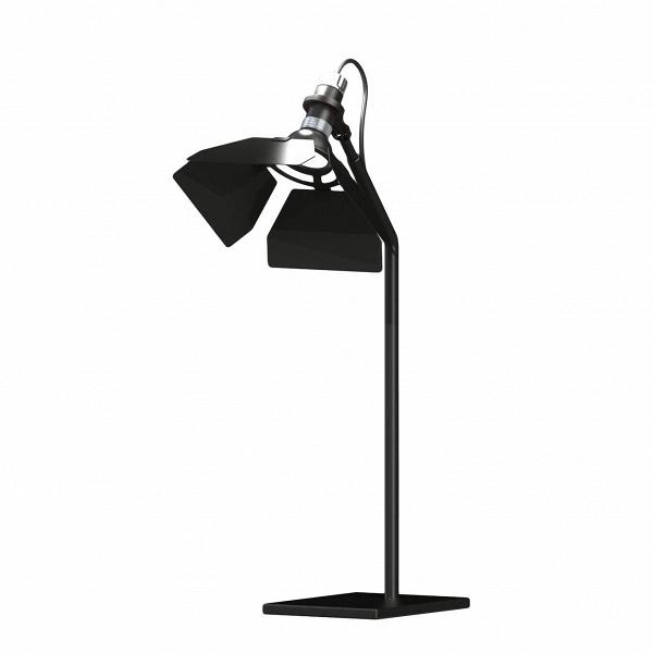 Настольный светильник RibaltaНастольные<br>Настольный светильник Ribalta — творение современного итальянского дизайнера Гвидо Вролы. Обычно он занимается освещением театров, концертных залов, кинотеатров и просто больших помещений.<br><br><br> Если вы хотите почувствовать себя суперзвездой, купите себе настольный светильник Ribalta. Он выполнен в форме софитов — что может быть приятней, чем каждый день проводить в их свете? Так можно почувствовать себя героем популярного сериала или, наоборот, режиссером.<br><br><br> Светильник создаст непов...<br><br>stock: 0<br>Высота: 61<br>Ширина: 37<br>Материал абажура: Металл<br>Материал арматуры: Сталь<br>Цвет абажура: Черный матовый<br>Цвет арматуры: Черный матовый