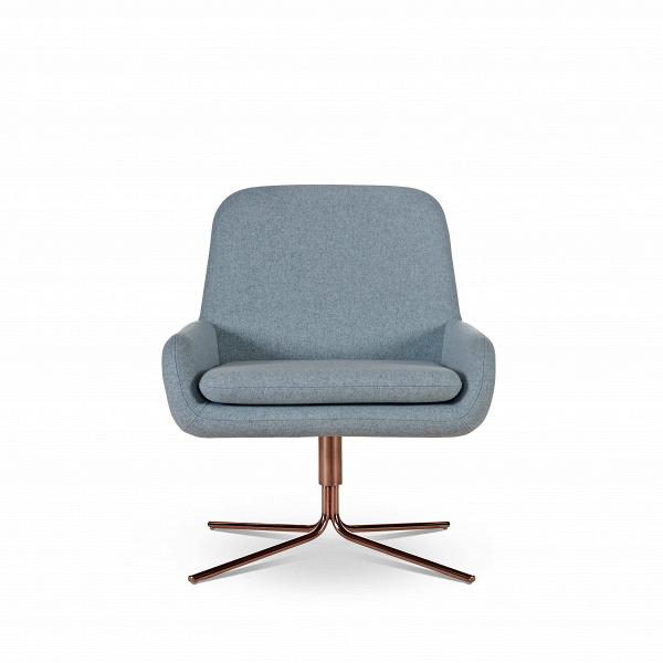 Кресло Coco SwivelИнтерьерные<br>Дизайнерское небольшое современное вращающееся кресло Coco Swivel (Коко Свивэл) из ткани на одной ножке от Softline (Софтлайн).<br><br>КреслоВCoco Swivel — красивое и смелое кресло с минималистским, но очень динамичным дизайном. Это результат сотрудничества между Флеммингом Буском и Стефаном Б.Херцогом, датским коллективом дизайнеров, известными своими наградами вВобласти дизайна мебели.<br><br><br><br> <br><br><br> Оригинальное креслоВCoco Swivel от компании Softline — это выбор для активных ...<br><br>stock: 0<br>Высота: 76<br>Высота сиденья: 40<br>Ширина: 65<br>Глубина: 73<br>Цвет ножек: Медь<br>Механизмы: Поворотная функция<br>Материал обивки: Шерсть, Полиамид<br>Коллекция ткани: Felt<br>Тип материала обивки: Ткань<br>Тип материала ножек: Металл<br>Цвет обивки: Светло-голубой<br>Дизайнер: Busk + Hertzog