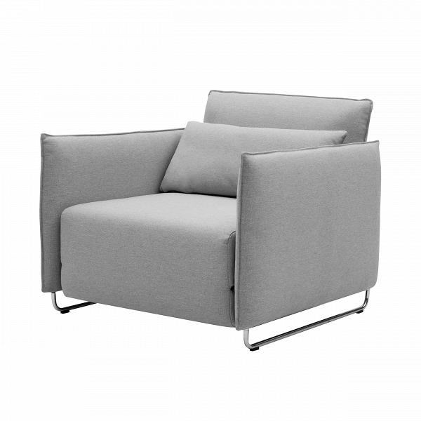Кресло CordИнтерьерные<br>Дизайнерское кресло Cord (Корд) из шерсти, полиамида на металлических ножках от Softline (Софтлайн).<br><br><br> Кресло CordВ— это результат сотрудничества между Флеммингом Буском и Стефаном Б.Херцогом, датским коллективом дизайнеров, известными своими наградами вВобласти дизайна мебели. Кресло было разработано в 2006 году. <br><br><br> Оригинальное кресло CordВ— это компактная мебель, идеально подходящая для маленьких городских пространств, изящное иВпрактичное кресло-кровать. В эт...<br><br>stock: 0<br>Высота: 76<br>Высота сиденья: 38<br>Ширина: 95<br>Глубина: 96<br>Цвет ножек: Хром<br>Материал обивки: Хлопок, Полиэстер<br>Коллекция ткани: Vision<br>Тип материала обивки: Ткань<br>Тип материала ножек: Металл<br>Цвет обивки: Светло-серый<br>Дизайнер: Busk + Hertzog