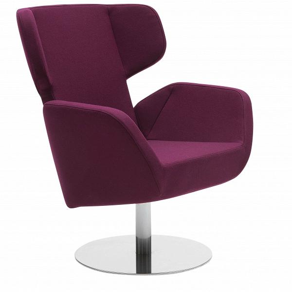 Кресло CosyИнтерьерные<br>Дизайнерское вращающееся удобное кресло Cosy (Кози) на одной ножке в стиле минимализма от Softline (Софтлайн).<br><br><br> Кресло Cosy спроектировал Маттиас Демакер, немецкий дизайнер, родившийся в 1970 году. Он одновременно обучался дизайну, работал в архитектурных студиях и сотрудничал с различными мастерскими. Особенность стиля Демакера — создавать простые, но изысканные предметы мебели. Например, кресло Cosy, которое выпускает компания Softline. Датская компания Softline была основана в 1979 ...<br><br>stock: 0<br>Высота: 87-100<br>Высота сиденья: 45<br>Ширина: 80<br>Глубина: 77<br>Цвет ножек: Хром<br>Механизмы: Поворотная функция<br>Материал обивки: Шерсть, Полиамид<br>Коллекция ткани: Felt<br>Тип материала обивки: Ткань<br>Тип материала ножек: Металл<br>Цвет обивки: Бордовый<br>Дизайнер: Matthias Demacker