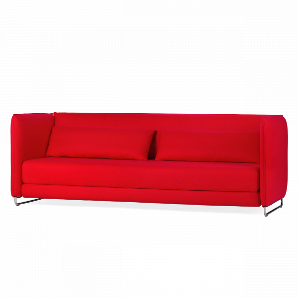 Диван MetroРаскладные<br>Дизайнерский двухместный диван Metro (Метро) с обивкой из ткани на стальных ножках от Softline (Софтлайн).<br><br> Диван Metro — это практичный, современный иВстильный трехместный диван для длительного иВудобного использования. Объедините раскладной диван Metro сВдругой мебелью коллекции Softline, чтобы создать шикарный интерьер, обладающий современной энергетикой. При желании раскладной диван Metro может быть легко превращен вВкровать.<br><br><br><br><br><br> Оригинальный диван Metro — т...<br><br>stock: 0<br>Высота: 78<br>Высота сиденья: 38<br>Глубина: 92<br>Длина: 218<br>Цвет ножек: Хром<br>Материал обивки: Шерсть, Полиамид<br>Коллекция ткани: Felt<br>Тип материала обивки: Ткань<br>Тип материала ножек: Металл<br>Цвет обивки: Красный<br>Дизайнер: Busk + Hertzog
