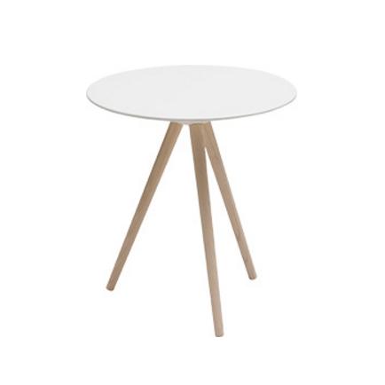Кофейный стол CircoКофейные столики<br>Маленький и компактный кофейный стол Circo был задуман дизайнерами как универсальный предмет домашней меблировки, который вы можете использовать как внутри дома, так и во внутреннем дворике или даже у бассейна. Дизайн столика вполне позволяет ему гармонично влиться практически в любой современный интерьерный стиль.<br><br><br> Кофейный стол Circo изготовлен из высококачественных материалов, что обеспечивает его долговечность и устойчивость ко многим внешним воздействиям. Длинные элегантные ножк...<br><br>stock: 0<br>Высота: 50<br>Диаметр: 45<br>Цвет ножек: Светло-коричневый<br>Цвет столешницы: Белый<br>Материал ножек: Массив ясеня<br>Тип материала ножек: Дерево