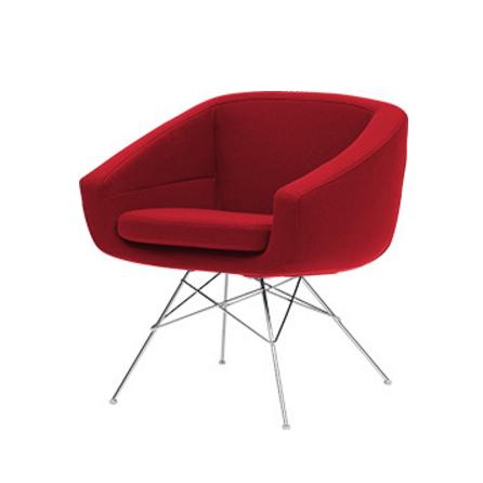 Кресло AikoИнтерьерные<br>Это стильное дизайнерское изделие отвечает всем запросам современного интерьерного дизайна: оно обладает легкой и оригинальной конструкцией, стильным цветовым решением, функциональностью и первоклассным комфортом. Кресло Aiko имеет очень удобную форму, которая позволяет расслабить спину и ноги, что особенно актуально во время или после рабочего дня. Дизайн изделия впечатляет красивой конструкцией ножек и привлекательными цветами.<br><br><br> Обивка кресла изготовлена из прочной, высококачестве...<br><br>stock: 0<br>Высота: 70<br>Высота сиденья: 45<br>Ширина: 64<br>Глубина: 58<br>Цвет ножек: Хром<br>Материал обивки: Войлок<br>Тип материала обивки: Ткань<br>Тип материала ножек: Металл<br>Цвет обивки: Красный