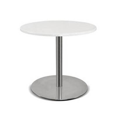 Кофейный стол HelloКофейные столики<br>Дизайнерский кофейный стол Hello — это модель стола, которая не станет перетягивать на себя акценты уже готового интерьера, но станет его легким ненавязчивым украшением и функциональным дополнением. Изделие сделано в модном сегодня стиле минимализма — лаконичные формы, минимум деталей и максимум функциональности. Столик будет идеально сочетаться с интерьером в стиле хай-тек, модерн, лофт и многих других современных стилях.<br><br><br> Столешница изделия изготовлена из высококачественной прочно...<br><br>stock: 0<br>Высота: 40<br>Диаметр: 45<br>Цвет ножек: Хром<br>Цвет столешницы: Белый<br>Тип материала столешницы: Дерево<br>Тип материала ножек: Сталь нержавеющая