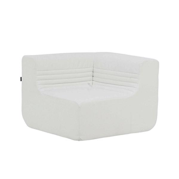 Угловой модуль дивана LoftДвухместные<br>Модульные диваны в современном мире интерьерного дизайна набирают все большую популярность. Такие диваны удобны, обладают стильным оформлением и могут быть скомпонованы под обстановку любой комнаты. Благодаря наличию у данной модели угловой формы вы сможете собрать себе диван нужного размера и конфигурации или создать уютную полукруговую композицию в центре гостиной комнаты с кофейным столиком в середине. Угловой модуль дивана Loft выглядит особенно красиво и стильно, отвечая всем требова...<br><br>stock: 0<br>Высота: 63<br>Высота сиденья: 34<br>Глубина: 88<br>Длина: 88<br>Материал обивки: Полиэстер<br>Коллекция ткани: Valencia<br>Тип материала обивки: Кожа искусственная<br>Цвет обивки: Белый