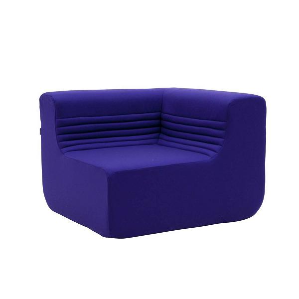 Угловой модуль дивана LoftДвухместные<br>Модульные диваны в современном мире интерьерного дизайна набирают все большую популярность. Такие диваны удобны, обладают стильным оформлением и могут быть скомпонованы под обстановку любой комнаты. Благодаря наличию у данной модели угловой формы вы сможете собрать себе диван нужного размера и конфигурации или создать уютную полукруговую композицию в центре гостиной комнаты с кофейным столиком в середине. Угловой модуль дивана Loft выглядит особенно красиво и стильно, отвечая всем требова...<br><br>stock: 0<br>Высота: 63<br>Высота сиденья: 34<br>Глубина: 88<br>Длина: 88<br>Материал обивки: Шерсть, Полиамид<br>Коллекция ткани: Felt<br>Тип материала обивки: Ткань<br>Цвет обивки: Фиолетовый