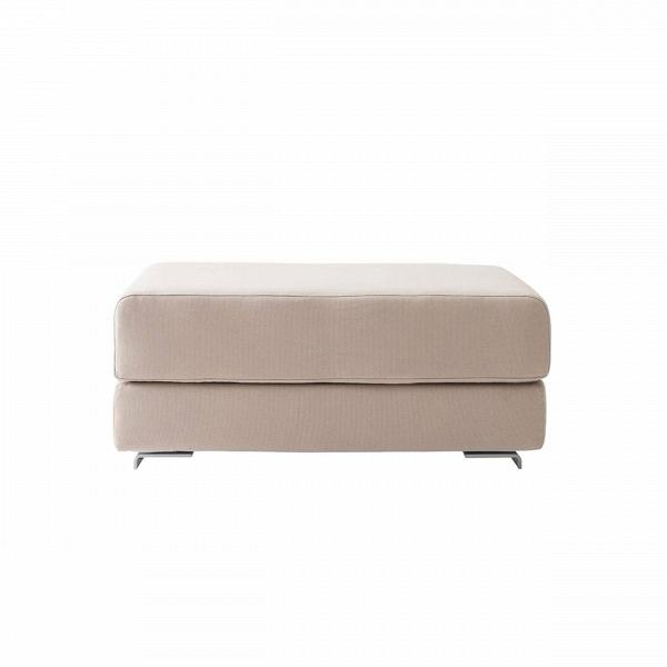 Пуф LoungeПуфы и оттоманки<br>Минималистичный интерьер предполагает не только отсутствие лишних деталей и элементов декора, но и мебель лаконичной формы. Однако именно такая мягкая мебель, как пуфы, способна украсить общую обстановку комнаты и сделать ее в разы уютнее и теплее. Пуф Lounge можно отнести сразу к нескольким стилям, например к утонченному и лаконичному японскому стилю или к современному стилю хай-тек. В любом случае благодаря своему универсальному дизайну пуф Lounge будет гармонично смотреться практически...<br><br>stock: 0<br>Высота: 40<br>Ширина: 98<br>Глубина: 75<br>Цвет ножек: Хром<br>Цвет сидения: Бежевый<br>Тип материала сидения: Ткань<br>Тип материала ножек: Алюминий