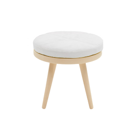 Кофейный стол Alma диаметр 46 с подушкойКофейные столики<br>Кофейный стол Alma диаметр 46 с подушкой — это стильное миниатюрное дизайнерское изделие, которое привнесет в общий интерьер вашего дома еще больше комфорта и тепла. Благодаря симпатичной подушке столик выглядит по-домашнему уютным и привлекательным. Его спокойные цвета не будут нарушать общий дизайн, но смогут гармонично и легко дополнить и освежить его.<br><br><br> Кофейный стол Alma диаметр 46 с подушкой изготовлен из высочайшего качества древесины ясеня, что гарантирует его износостойкость и...<br><br>stock: 0<br>Высота: 43<br>Диаметр: 46<br>Цвет ножек: Светло-коричневый<br>Цвет столешницы: Серый<br>Материал ножек: Массив ясеня<br>Тип материала столешницы: Ткань<br>Тип материала ножек: Дерево