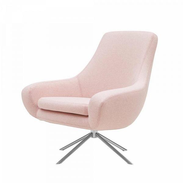 Кресло NoomiИнтерьерные<br>Кресло Noomi — это идеальное решение для домашнего или офисного кабинета. Дизайнер постарался сделать его максимально комфортным: широкое сиденье имеет удобную мягкую подушку, что позволяет чувствовать себя комфортно даже при длительном сидячем положении, а высокая спинка способствует ровной осанке.<br><br><br> Особое внимание стоит уделить поворотной функции кресла Noomi, благодаря которой вы можете с легкостью принимать удобное для вас положение. Обивка кресла сделана из экологически чистого ...<br><br>stock: 0<br>Высота: 90<br>Высота сиденья: 45<br>Ширина: 84<br>Глубина: 71<br>Цвет ножек: Хром<br>Механизмы: Поворотная функция<br>Материал ножек: Металл<br>Материал обивки: Войлок<br>Цвет обивки: Светло-розовый