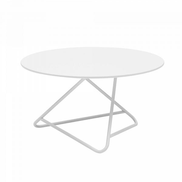 Кофейный стол TribecaКофейные столики<br>Сочетание четкого стиля и оригинальной конструкции стола в результате дает очень интересный результат. Кофейный стол Tribeca будет не только замечательным функциональным дополнением к общей обстановке комнаты, но и станет ее стильным современным украшением. Кроме того, данное изделие обладает широкой столешницей, что делает его вдвойне полезным.<br><br><br> Красивая конструкция ножек изготовлена из стали высочайшего качества, что гарантирует устойчивость и долговечность всего изделия. Широкая ...<br><br>stock: 0<br>Высота: 41<br>Диаметр: 70<br>Цвет ножек: Белый<br>Цвет столешницы: Белый<br>Тип материала столешницы: МДФ<br>Тип материала ножек: Сталь