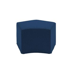 Пуф PauseПуфы и оттоманки<br>Если вам хочется украсить дом лаконичной, но оригинальной мебелью и привнести в окружающую обстановку небольшую изюминку и тепло, то обратите особенное внимание на пуф Pause, чей дизайн гармонично сочетает в себе четкие строгие линии и необычную форму. В сочетании с отделочными материалами наивысшего качества это изделие представляет собой уникальную и незаменимую часть домашнего интерьера.<br><br><br> Войлочная ткань, из которой выполнена обивка, обладает уникальными характеристиками, благода...<br><br>stock: 0<br>Высота: 42<br>Ширина: 65<br>Глубина: 53<br>Материал сидения: Войлок<br>Цвет сидения: Темно-синий<br>Тип материала сидения: Ткань