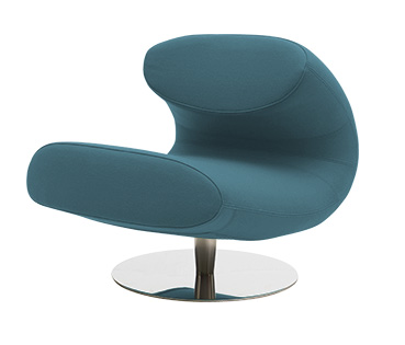 Кресло RioИнтерьерные<br>Дизайнерское минималистичное красивое кресло Rio (Рио) на одной ножке от Softline (Софтлайн).<br><br><br><br> Кресло Rio — красивое и смелое кресло с минималистским, но очень динамичным дизайном. Это результат сотрудничества между Флеммингом Буском и Стефаном Б.Херцогом, датским коллективом дизайнеров, известными своими наградами вВобласти дизайна мебели. Кресло было создано в сентябре 2012 года. <br> <br><br><br> Оригинальное кресло Rio от компании SoftLine — это выбор для активных и жизнерадостных л...<br><br>stock: 0<br>Высота: 70<br>Ширина: 69<br>Глубина: 90<br>Цвет ножек: Хром<br>Высота подлокотников: 40<br>Материал обивки: Хлопок, Полиэстер<br>Коллекция ткани: Vision<br>Тип материала обивки: Ткань<br>Тип материала ножек: Алюминий<br>Цвет обивки: Темно-бирюзовый<br>Дизайнер: Busk + Hertzog