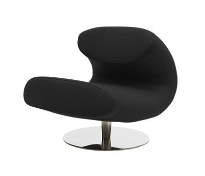 Кресло RioИнтерьерные<br>Дизайнерское минималистичное красивое кресло Rio (Рио) на одной ножке от Softline (Софтлайн).<br><br><br><br> Кресло Rio — красивое и смелое кресло с минималистским, но очень динамичным дизайном. Это результат сотрудничества между Флеммингом Буском и Стефаном Б.Херцогом, датским коллективом дизайнеров, известными своими наградами вВобласти дизайна мебели. Кресло было создано в сентябре 2012 года. <br> <br><br><br> Оригинальное кресло Rio от компании SoftLine — это выбор для активных и жизнерадостных л...<br><br>stock: 0<br>Высота: 70<br>Ширина: 69<br>Глубина: 90<br>Цвет ножек: Хром<br>Высота подлокотников: 40<br>Материал обивки: Хлопок, Полиэстер<br>Коллекция ткани: Vision<br>Тип материала обивки: Ткань<br>Тип материала ножек: Алюминий<br>Цвет обивки: Темно-серый<br>Дизайнер: Busk + Hertzog