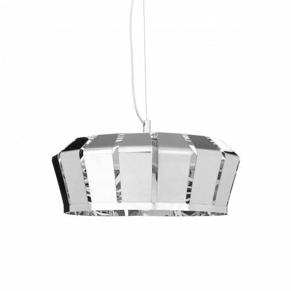Подвесной светильник Crown диаметр 35Подвесные<br>Подвесной светильник Crown диаметр 35 привлекает к себе внимание захватывающей игрой света вВлучах «короны».<br><br><br><br><br> Он имеет сложный дизайн металлического абажура, имеющего узкие щели для прохождения света, что придает светильнику замечательную легкость и нарядность.<br><br>stock: 6<br>Доп. цвет абажура: Хром<br>Материал абажура: Металл<br>Цвет абажура: Золотой<br>Дизайнер: Fabian Baumann and SГ¶nke Hoof