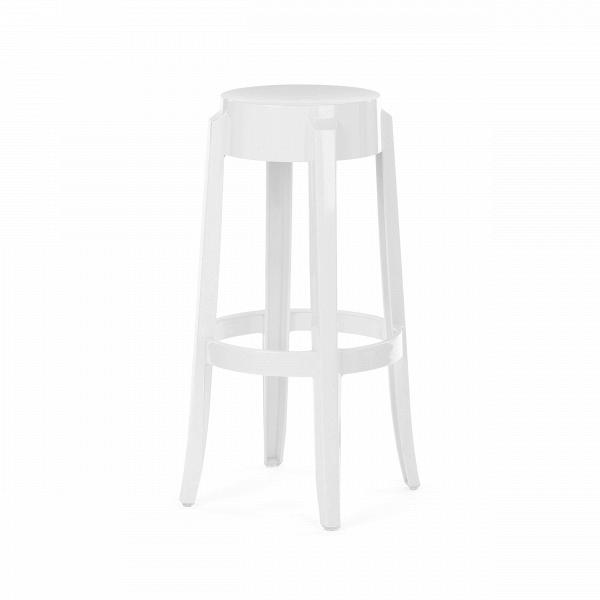 Барный стул Charles GhostБарные<br>Дизайнерский барный стул Charles Ghost (Чарльз Гост) из пластика без спинки от Cosmo (Космо). <br><br> Charles GhostВ— это прозрачные барные стулья сВочень привлекательным дизайном. Слегка изогнутые округлые ножки напоминают форму мебели 1800-х годов. Особый облик элегантных линий Charles GhostВ— это моноблок изВпрозрачного поликарбоната, который неВподдается разрушению иВможет использоваться вВлюбом месте.<br><br><br> Оригинальные барные стулья Charles Ghost выполне...<br><br>stock: 15<br>Высота: 75<br>Диаметр: 37<br>Материал каркаса: Поликарбонат<br>Тип материала каркаса: Пластик<br>Цвет каркаса: Белый<br>Дизайнер: Philippe Starck