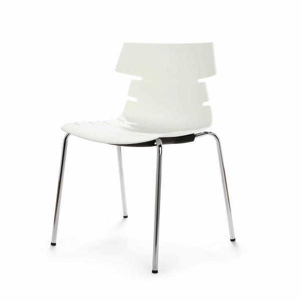 Стул BreakoutИнтерьерные<br>Дизайнерский креативный минималистичный пластиковый стул Breakout (Брэкаут) на тонких металлических ножках от Cosmo (Космо).<br><br>     С одной стороны, стул Breakout — прямой наследник минималистической традиции, которая не терпит излишеств и отсекает все лишнее в пользу функциональности и чистоты линий. С другой — необычная форма стула, напоминающая хребет неизвестного животного, расширяет возможности его использования в интерьерах различных стилей.<br><br><br>     Благодаря своей компактности, легк...<br><br>stock: 28<br>Высота: 81<br>Высота сиденья: 45<br>Ширина: 51<br>Глубина: 58<br>Цвет ножек: Хром<br>Цвет сидения: Белый<br>Тип материала сидения: Полипропилен<br>Тип материала ножек: Сталь нержавеющая