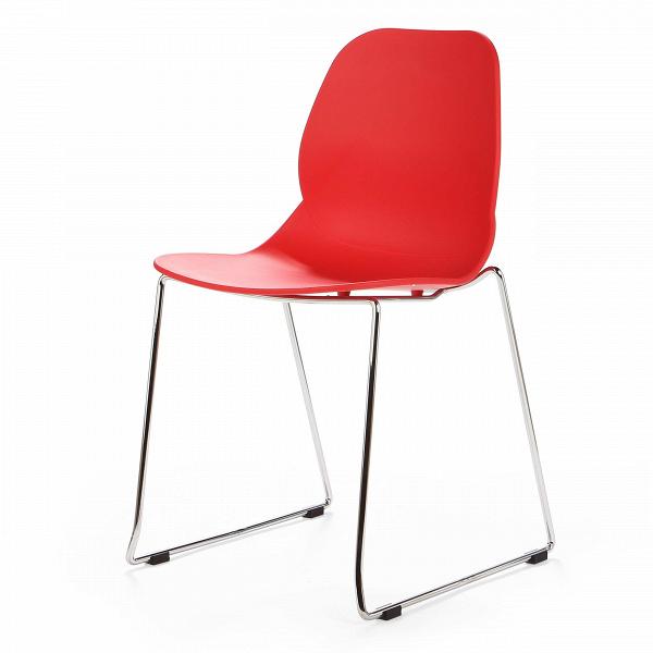 Стул LightweightИнтерьерные<br>Дизайнерский узкий высокий стул Lightweight (Лайтвейт) из пластика без подлокотников на тонких стальных ножках от Cosmo (Космо).<br>Стул Lightweight — это экономичный и стильный вариант мебели для офиса. Сглаженные формы сиденья, спинки и ножек приятны глазу. Сидеть же на нем невероятно комфортно, так как дизайнеры позаботились о своем потребителе, они спроектировали вогнутуюВспинкуВстула, благодаря которой отдых приятен и безвреден.<br> <br> Полипропилен, из которого выполнено сиденье, с...<br><br>stock: 13<br>Высота: 82,5<br>Ширина: 54<br>Глубина: 49,5<br>Цвет ножек: Хром<br>Цвет сидения: Красный<br>Тип материала сидения: Полипропилен<br>Тип материала ножек: Сталь нержавеющая