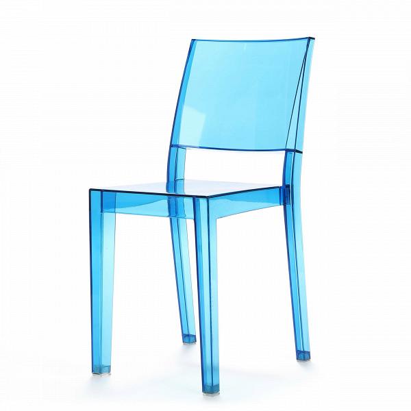 Стул La MarieИнтерьерные<br>Дизайнерский прозрачный легкий стул La Marie (Ля Мари) из поликарбоната классической формы от Cosmo (Космо).<br><br> Стул La Marie объединяет в себе строгую геометричность, но при этом легкость и неосязаемость. Стул La Marie сделан изВпрозрачного поликарбоната, ноВвыглядит так, словно выточен изВтончайшего хрусталя или оказался перед нами прямиком изВсказки про «Снежную королеву».ВОнВподходит для декорирования современных интерьеров в стиле хай-тек или китч.<br><br><br>   ...<br><br>stock: 18<br>Высота: 85,5<br>Высота сиденья: 48<br>Ширина: 41<br>Глубина: 53,5<br>Материал каркаса: Поликарбонат<br>Тип материала каркаса: Пластик<br>Цвет каркаса: Голубой<br>Дизайнер: Philippe Starck