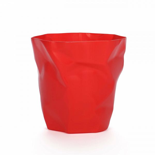 Мусорная корзина CrumpleРазное<br>Дизайнерская мусорная однотонная корзина Crumple (Крампл) из полипропилена от Cosmo (Космо).<br><br>     Видно, дизайнер, разрабатывавший конструкцию этой корзины, долго не мог придумать, какой она будет в конечном итоге. Сделав очередной набросок, он смял его в комок — и получил отличную идею мусорнойВкорзины Crumple!В<br><br><br>     Эта забавная мусорная корзина идеально подойдет для творческих студий иВдизайнерских бюро. Она изготовлена из легкого долговечного материала, полипропилен...<br><br>stock: 0<br>Высота: 30<br>Ширина: 32<br>Диаметр: 20<br>Материал каркаса: Полипропилен<br>Цвет каркаса: Красный