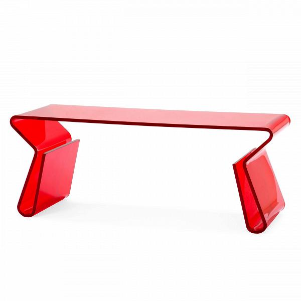 Кофейный стол AcrylicКофейные столики<br>Дизайнерский стильный акриловый прозрачный кофейный стол Acrylic (Акрилик) от Cosmo (Космо).<br><br><br> Хотите сделать свой интерьер по-настоящему красивым и удобным? Без лишних нагромождений, но чтобы пребывание в нем было максимально комфортным? Тогда стоит обратить внимание на такую важную деталь интерьера, как журнальный или кофейный столик. Благодаря ему вы всегда сможете держать под рукой часто используемые предметы, и кроме того, он отлично украсит и разнообразит обстановку всего помещен...<br><br>stock: 0<br>Высота: 39,5<br>Ширина: 40<br>Диаметр: 100<br>Тип материала каркаса: Акрил<br>Цвет каркаса: Красный