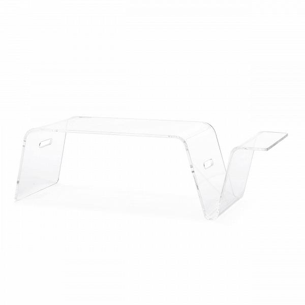 Кофейный стол Modern AcrylicКофейные столики<br>Дизайнерский стильный журнальный акриловый столик Modern Acrylic (Модерн Акрилик) от Cosmo (Космо).<br><br>Стильный и модный хай-тек-дизайн кофейного стола Modern Acrylic приковывает к себе взгляды и приятен на вид. В зависимости от освещения он приобретает новые оттенки, которые делают интерьер ярким и неповторимым. Если вы ищете простой вариант освежить интерьер, то не обязательно хвататься за рамки и вазы — всегда можно обзавестись стильным дизайнерским кофейным столом Modern Acrylic от комп...<br><br>stock: 9<br>Высота: 25<br>Ширина: 34<br>Диаметр: 25<br>Тип материала каркаса: Акрил<br>Цвет каркаса: Прозрачный