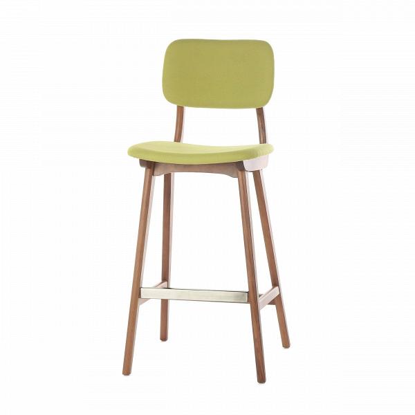 Барный стул Civil 2Барные<br>Простой дизайн и комфорт, стиль и изящество элитного дерева — все это сочетается в представленном здесь барном стуле Civil 2. Этот стул будет прекрасно смотреться не только в офисе или кабинете, но также подойдет и в квартиру. Благодаря двум вариантам обивки, имеющимся в наличии, вы сможете подобрать стул, который подойдет именно вашему интерьеру.<br><br><br> В качестве основного материала для изготовления этих стульев используется высококачественная, невероятно прочная древесина американского...<br><br>stock: 12<br>Высота: 100<br>Высота сиденья: 76<br>Ширина: 45<br>Глубина: 54,5<br>Материал каркаса: Массив ореха<br>Тип материала каркаса: Дерево<br>Материал сидения: Полиэстер<br>Цвет сидения: Зеленый<br>Тип материала сидения: Ткань<br>Коллекция ткани: Gabriel Fabric<br>Цвет каркаса: Орех