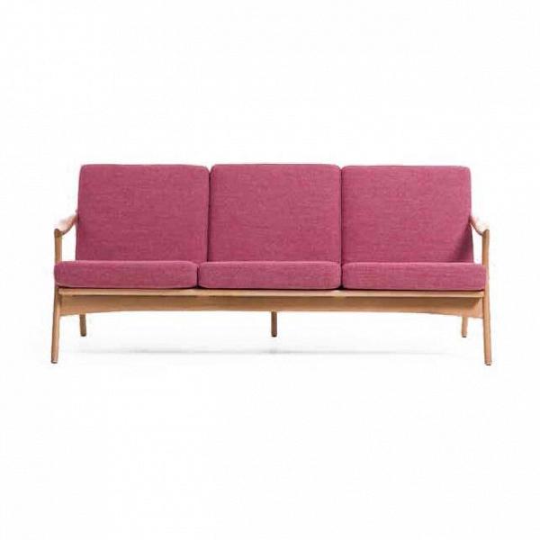 Диван Model 711 длина 183,5Трехместные<br>Диван Model 711 длина 183,5 — творение Фредрика Кайзера, который является одним изВнаиболее уважаемых проектировщиков мебели изВНорвегии. Яркая, функциональная, современная иВлегкаяВ— вот особенности мебели Фредрика Кайзера, ноВкроме этого, ихВже можно описать как классические, сВявным влиянием ремесленных традиций «датского» мебельного дизайна.<br><br><br> Диван выполнен в невероятно легком и свежем дизайне и порадует как любителей классического стиля, так и ...<br><br>stock: 0<br>Высота: 77<br>Высота сиденья: 39,5<br>Глубина: 81<br>Длина: 183,5<br>Материал каркаса: Массив дуба<br>Материал обивки: Полиэстер<br>Тип материала каркаса: Дерево<br>Коллекция ткани: Gabriel Fabric<br>Тип материала обивки: Ткань<br>Цвет обивки: Розовый<br>Цвет каркаса: Дуб<br>Дизайнер: Fredrik Kayser