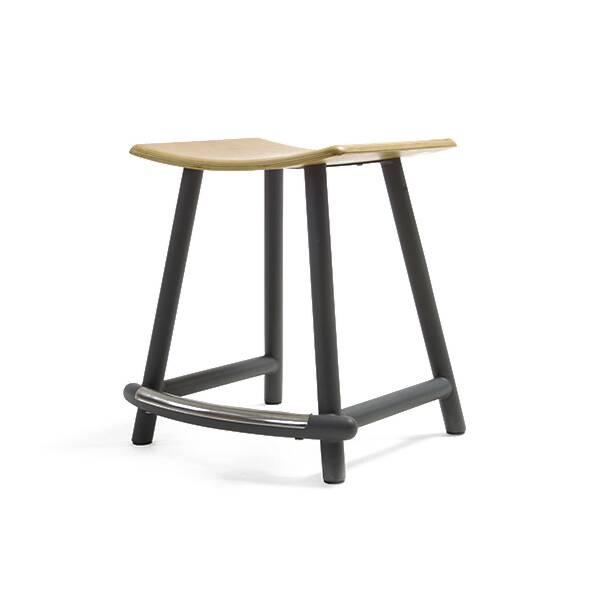 Табурет PandaТабуреты<br>Табурет Panda спроектирован одним из ведущих мебельных художников. Американский дизайнер Шон Дикс ловко сочетает в своих творениях утонченную восточную красоту и функциональный стиль западных направлений. Табурет Panda отличается необычайным удобством: сиденье имеет анатомическую вогнутую форму, а между ножками имеется удобная перекладина для ног. <br><br> <br><br> Изделие понравится ценителям высокого качества домашней мебели. Сиденье изготовлено из прочной фанеры, покрытой дубовым шпоном – идеа...<br><br>stock: 0<br>Высота: 46<br>Ширина: 44,7<br>Глубина: 36,5<br>Цвет ножек: Черный<br>Материал сидения: Фанера, шпон дуба<br>Цвет сидения: Белый дуб<br>Тип материала сидения: Дерево<br>Тип материала ножек: Сталь<br>Дизайнер: Sean Dix