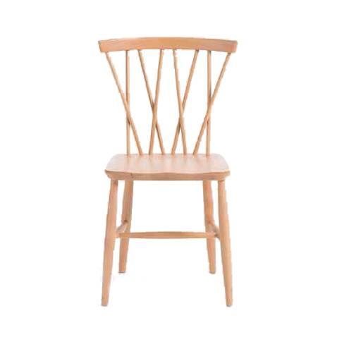 Стул Magnus SpindleИнтерьерные<br>Компания Cosmo рада представить вам универсальный и привлекательный стул Magnus Spindle. Изделие обладает простым дизайном, но выигрывает за счет своего удобства и интересной фигурной спинки. Стул практичен и функционален, его можно использовать в любом помещении, от кухни до гостиной комнаты, а светлый цвет дерева подойдет практически для любой цветовой гаммы помещения.<br><br><br> Весь корпус стула Magnus Spindle изготовлен из массива бука. Эта древесина обладает замечательными декоративными с...<br><br>stock: 0<br>Высота: 79<br>Высота сиденья: 43<br>Ширина: 46<br>Глубина: 59,5<br>Материал каркаса: Массив бука<br>Тип материала каркаса: Дерево<br>Цвет каркаса: Светло-коричневый