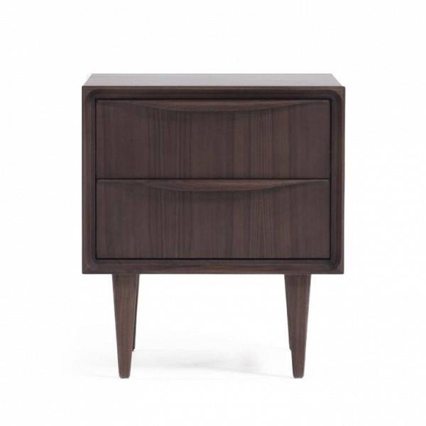 Тумба Ovelix высота 56 ширина 50Тумбы и комоды<br>Тумба Ovelix высота 56 ширина 50 – это представитель мебельного модельного ряда линейки Ovelix, которая выполнена в классическом, лаконичном формате, и при этом обладает утонченным, интересным «характером». Тумба Ovelix будет прекрасным функциональным и декоративным элементом домашнего интерьера.<br><br><br> МДФ – прекрасный, практичный и доступный материал для домашней мебели. Изделия из МДФ достаточно прочны и надежны, не зря этот материал считается прочнее древесного массива. Чтобы сделать и...<br><br>stock: 0<br>Высота: 56<br>Ширина: 50<br>Глубина: 45<br>Материал каркаса: МДФ, шпон ореха<br>Цвет каркаса: Темно-коричневый