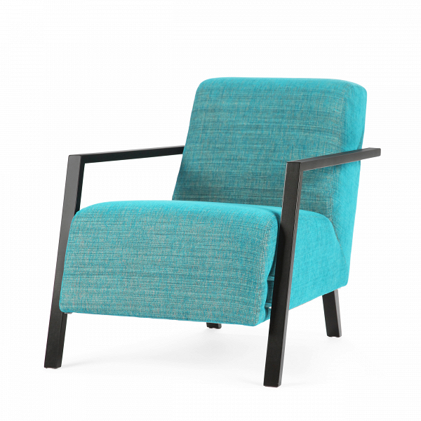 Кресло FoxiИнтерьерные<br>Дизайнерское комфортное однотонное мягкое кресло Foxi (Фокси) с длинным сиденьем от Sits (Ситс).<br><br><br> Кресло Foxi<br>сконструировано выдающимися дизайнерами мебельной компании Sits, которая славится своей мягкой мебелью и аксессуарами для нее. Кресло имеет весьма необычную форму, которая отличается удобством и простотой. Выполненное наподобие компактного шезлонга, кресло имеет длинное сиденье и слегка откинутую назад спинку, что способствует приятному и полноценному отдыху.<br><br><br> Передние ...<br><br>stock: 0<br>Высота: 77<br>Высота сиденья: 43<br>Ширина: 67<br>Глубина: 99<br>Цвет ножек: Черный<br>Материал обивки: Полиэстер, Акрил<br>Коллекция ткани: Категория ткани II<br>Тип материала обивки: Ткань<br>Тип материала ножек: Дерево<br>Цвет обивки: Бирюзовый