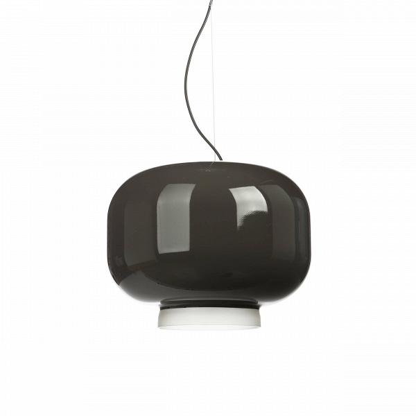 Подвесной светильник Chouchin диаметр 40Подвесные<br>Подвесной светильникВChouchinВсВплафоном изВлакированного выдувного стекла.В<br><br><br> ChouchinВ— традиционный японский фонарь изВбумаги иВбамбука, который используется для украшения входов вВобщественные заведения. Светильник ChouhinВ— это современная интерпретация этого фонаря. Внутренняя часть плафона имеет матовое покрытие, в то время как внешняя окрашена в яркий цвет.В<br><br><br>Коллекция включает вВсебя три светильника разных размер...<br><br>stock: 1<br>Высота: 160<br>Диаметр: 40<br>Количество ламп: 1<br>Материал абажура: Стекло<br>Мощность лампы: 13<br>Ламп в комплекте: Нет<br>Напряжение: 220<br>Тип лампы/цоколь: E27<br>Цвет абажура: Серый<br>Дизайнер: Ionna Vautrin