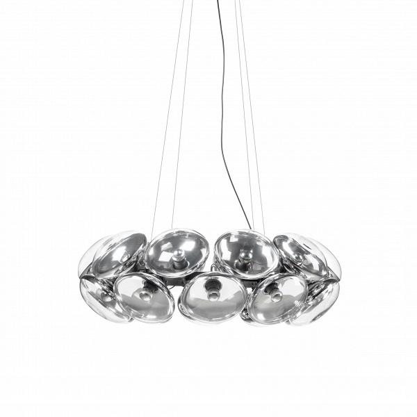 Подвесной светильник Bulb 20 лампПодвесные<br>Подвесной светильник Bulb 20 ламп — это энергосберегающая люстра, разработанная как ответ наВотказ отВламп накаливания. Столь ироничный светильник способен оживить интерьер на все 100%. Bulb может использоваться индивидуально или вВансамбле сВдругими люстрами. Светильник можно видоизменять по своему желанию. К примеру, можно использовать крупныйВабажур иВпоместить в него лампы.В<br><br><br> Подвесной светильник Bulb 20 ламп способен создать драматическую атмосф...<br><br>stock: 0<br>Высота: 180<br>Диаметр: 92<br>Количество ламп: 20<br>Материал абажура: Стекло<br>Материал арматуры: Металл<br>Мощность лампы: 9<br>Ламп в комплекте: Нет<br>Напряжение: 220<br>Тип лампы/цоколь: E27<br>Цвет абажура: Прозрачный<br>Дизайнер: Tom Dixon