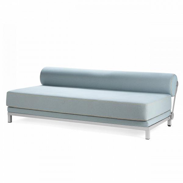 Диван SleepРаскладные<br>Дизайнерский удобный диван Sleep (Слип) без подлокотников на стальных ножках от Softline (Софтлайн).<br><br><br><br><br> Диван Sleep обладает выдающимся дизайном. ОнВможет использоваться вВкачестве дивана или двуспальной кровати. Спинка приспосабливаемая иВпозволяет вам размещать ее тем способом, которым понравится вам. Этот функциональный дизайнерский диван — победитель датского конкурса дизайнеров.В<br><br><br> Оригинальный диван Sleep выполнен по дизайну датского дуэта Флемминга Буска ...<br><br>stock: 3<br>Высота: 73<br>Высота сиденья: 43<br>Глубина: 90<br>Длина: 204<br>Цвет ножек: Хром<br>Материал обивки: Хлопок, Полиэстер<br>Коллекция ткани: Vision<br>Тип материала обивки: Ткань<br>Тип материала ножек: Сталь<br>Цвет обивки: Голубой<br>Дизайнер: Busk + Hertzog
