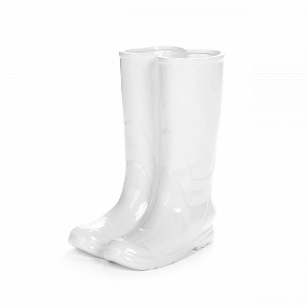 Подставка для зонтов RainbootsРазное<br>Подставка для зонтов Rainboots вВвиде резиновых сапогВ— это отличное дизайнерское решение для вашей прихожей. Этот ироничный иВжизнерадостный предмет наверняка понравится вашим гостям. <br><br><br> Подставка для зонтов Rainboots сделана из фарфора. Она также может быть использована вВкачестве вазы для цветов.<br><br>stock: 0<br>Высота: 37<br>Ширина: 20<br>Материал: Фарфор<br>Цвет: Белый<br>Диаметр: 27