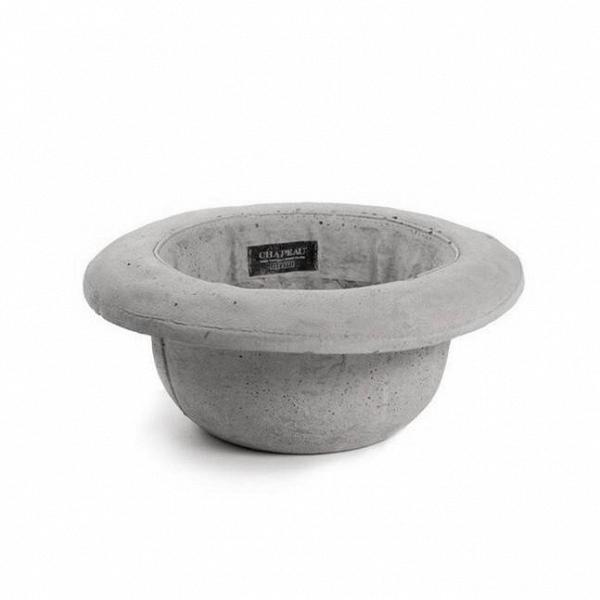 Кашпо Chapeau BombettaКашпо<br>Кашпо Chapeau Bombetta — это ваза изВцемента, выполненная вВвиде шляпы, которую можно использовать как вазу для цветов или живых растений или даже как ведро для льда. Разработанные дизайнером Маркантонио Раймонди Малерба для Seletti водонепроницаемые кашпо Chapeau Bombetta — это идеальный подарок для важных вам людей, что любят яркие и необычные вещи. <br><br> Модель выполнена в форме мужской шляпы-котелка. В XX столетии котелки изготавливали из войлока. Мастера создавали их на л...<br><br>stock: 0<br>Высота: 24<br>Ширина: 29<br>Материал: Цемент<br>Диаметр: 11