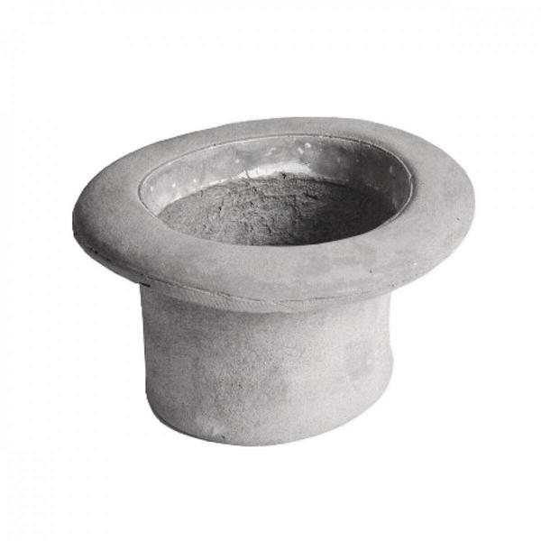 Кашпо Chapeau CilindroКашпо<br>Кашпо Chapeau Cilindro — это ваза изВцемента, выполненная вВвиде шляпы, которую можно использовать как вазу для цветов или живых растений или даже как ведро для льда. Разработанные дизайнером Маркантонио Раймонди Малерба для Seletti водонепроницаемые кашпо Chapeau CilindroВ— это идеальный подарок для важных вам людей, что любят яркие и необычные вещи. <br><br> Данная модель не что иное, как цилиндр. Цилиндры были актуальны на протяженииВмногих столетий, и как чудно, что...<br><br>stock: 0<br>Высота: 25<br>Ширина: 30<br>Материал: Цемент<br>Диаметр: 17