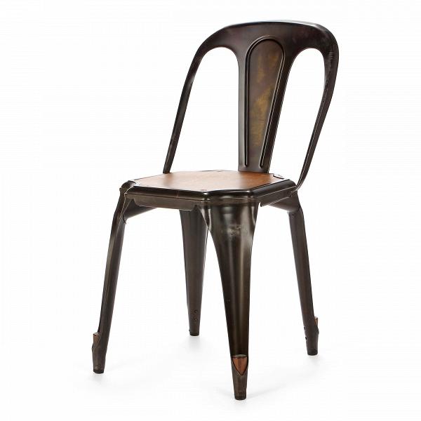 Стул Marais Vintage WoodИнтерьерные<br>Дизайнерский легкий стул Marais Vintage Wood (Мэрейс Винтаж Вуд) из стали простой формы с металлическим цветом от Cosmo (Космо).<br><br> Стул Marais Vintage Wood сочетает в себе черты, которые должны быть у каждого предмета мебели: максимум комфорта, универсальности, практичности и оригинальный дизайн. Такая мебель никогда не выходит из моды, став ее неотъемлемой частью. Вы можете поставить этот стул в офисном лофте, а можете выбрать его для своей столовой в скандинавском стиле или для веранды на...<br><br>stock: 35<br>Высота: 80<br>Высота сиденья: 45<br>Ширина: 42<br>Глубина: 53<br>Тип материала каркаса: Сталь<br>Материал сидения: Массив дуба<br>Цвет сидения: Дуб<br>Тип материала сидения: Дерево<br>Цвет каркаса: Ржавчина кофейная<br>Дизайнер: Xavier Pauchard