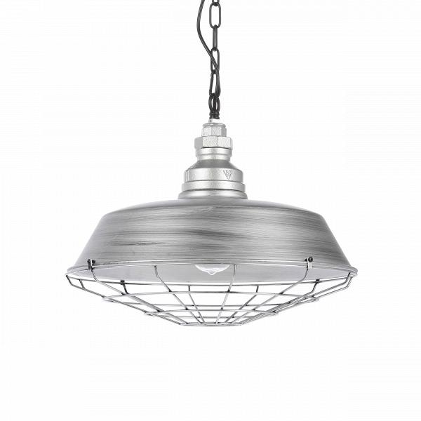 Подвесной светильник PlistoПодвесные<br><br><br>stock: 22<br>Высота: 43<br>Диаметр: 46<br>Длина провода: 150<br>Количество ламп: 1<br>Материал абажура: Металл<br>Мощность лампы: 60<br>Ламп в комплекте: Нет<br>Тип лампы/цоколь: E27<br>Цвет абажура: Серебряный<br>Цвет провода: Черный