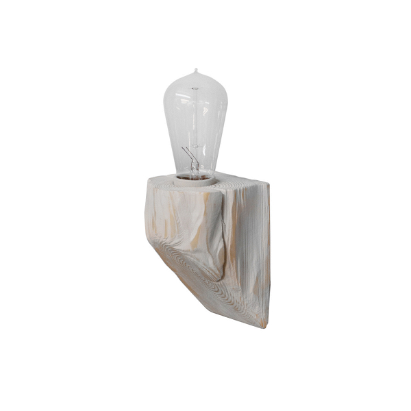 Настенный светильник QuerkНастенные<br><br><br>stock: 0<br>Высота: 10<br>Ширина: 10<br>Длина: 10<br>Количество ламп: 1<br>Материал абажура: Сосна<br>Мощность лампы: 40<br>Ламп в комплекте: Нет<br>Напряжение: 220<br>Тип лампы/цоколь: E27<br>Тип производства: Ручное производство<br>Цвет абажура: Белый
