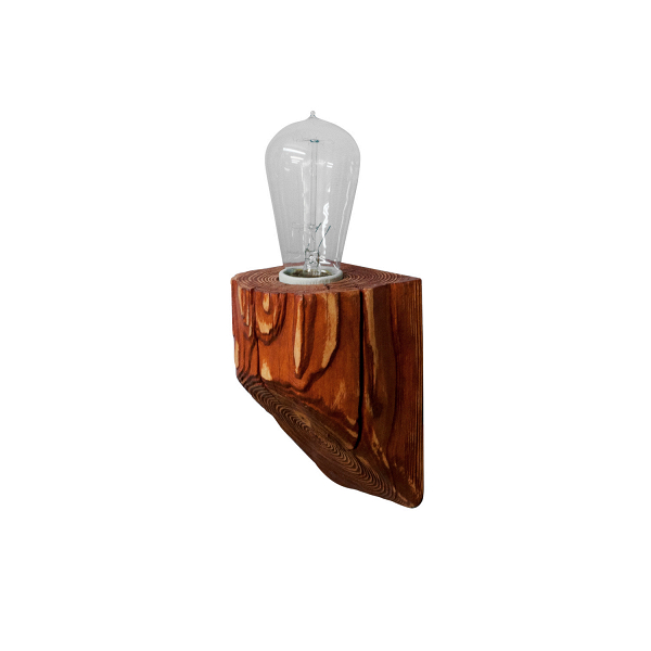 Настенный светильник QuerkНастенные<br><br><br>stock: 0<br>Высота: 10<br>Ширина: 10<br>Длина: 10<br>Количество ламп: 1<br>Материал абажура: Сосна<br>Мощность лампы: 40<br>Ламп в комплекте: Нет<br>Напряжение: 220<br>Тип лампы/цоколь: E27<br>Тип производства: Ручное производство<br>Цвет абажура: Махагон