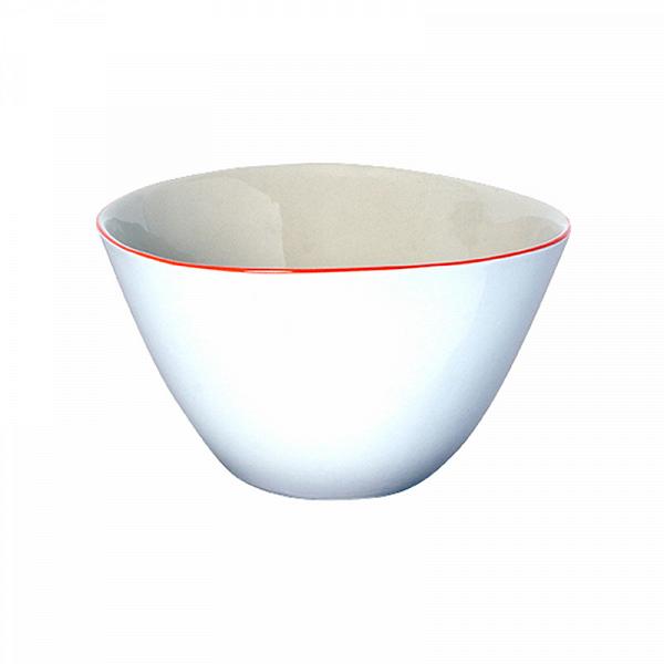 Салатник FUNKY RIO (DTC007)Посуда<br>Артикул: DTC007. Жемчужно-белый салатник с веселым ярким оранжевым ободком – оригинальный подход, если вы хотите дерзкой нотки в классическом оформлении праздничного стола. Озорные веснушки на носу, луч солнца сквозь щель: весело и позитивно. Дизайн: DaTerra, Португалия.<br><br>stock: 3<br>Высота: 9<br>Материал: Керамика<br>Цвет: Мульти<br>Размер: None<br>Диаметр: 15<br>Страна происхождения: Португалия