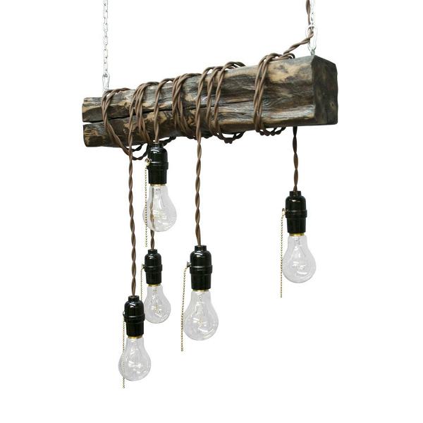 Подвесной светильник WebПодвесные<br><br><br>stock: 0<br>Высота: 10<br>Ширина: 50<br>Длина: 10<br>Длина провода: 150<br>Количество ламп: 5<br>Материал абажура: Сосна<br>Мощность лампы: 40<br>Ламп в комплекте: Да<br>Напряжение: 230<br>Тип лампы/цоколь: E27<br>Тип производства: Ручное производство<br>Цвет абажура: Палисандр<br>Цвет провода: Коричневый