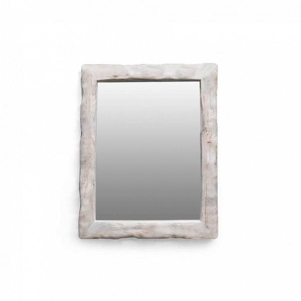 Зеркало Cube_МНастенные<br><br><br>stock: 0<br>Высота: 70<br>Ширина: 10<br>Материал: Сосна<br>Цвет: Белый<br>Длина: 65