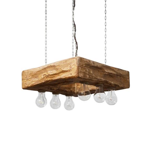 Подвесной светильник ForteПодвесные<br><br><br>stock: 0<br>Высота: 12<br>Ширина: 45<br>Длина: 45<br>Длина провода: 130<br>Количество ламп: 6<br>Материал абажура: Сосна<br>Мощность лампы: 40<br>Ламп в комплекте: Да<br>Напряжение: 230<br>Тип лампы/цоколь: E27<br>Тип производства: Ручное производство<br>Цвет абажура: Дуб<br>Цвет провода: Коричневый