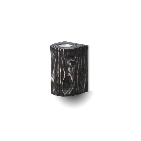 Настенный светильник DoubleНастенные<br><br><br>stock: 0<br>Высота: 20<br>Ширина: 10<br>Длина: 10<br>Количество ламп: 2<br>Материал абажура: Сосна<br>Мощность лампы: 5<br>Ламп в комплекте: Да<br>Напряжение: 230<br>Тип лампы/цоколь: GU10<br>Тип производства: Ручное производство<br>Цвет абажура: Графит